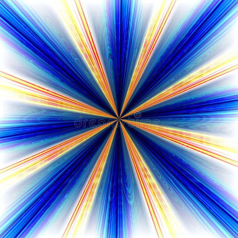 bakgrundsbristningszoom vektor illustrationer