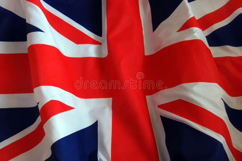 bakgrundsbritish flagga arkivfoto