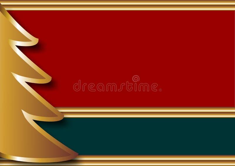 bakgrundsbritish jul vektor illustrationer