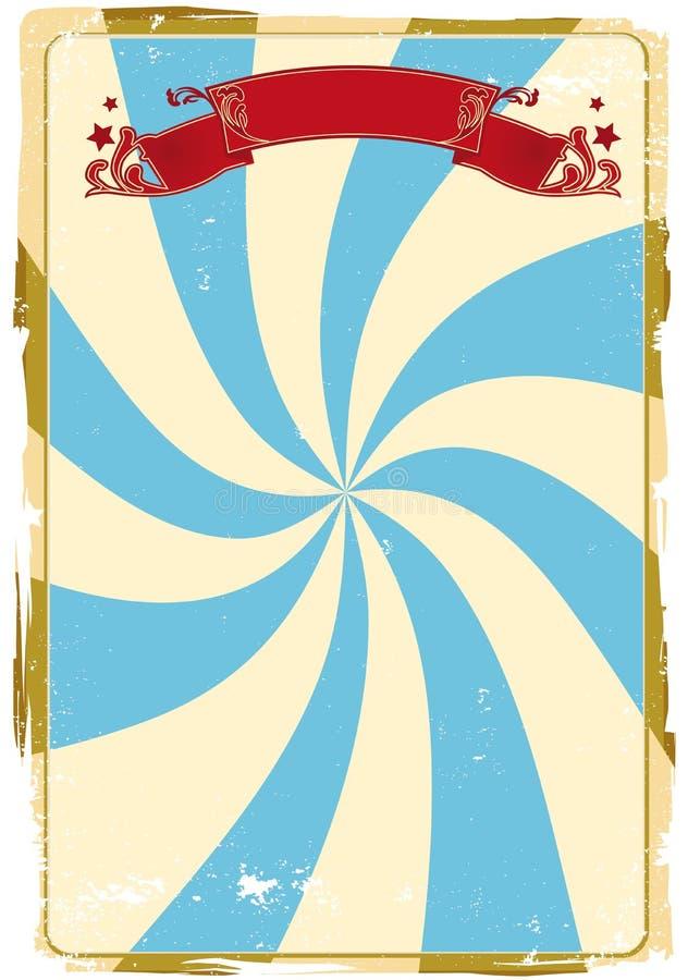 bakgrundscirkusgrunge royaltyfri illustrationer
