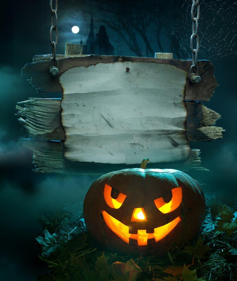 bakgrundsdesign halloween stock illustrationer