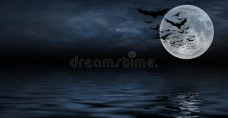 bakgrundsdesign spöklika halloween stock illustrationer