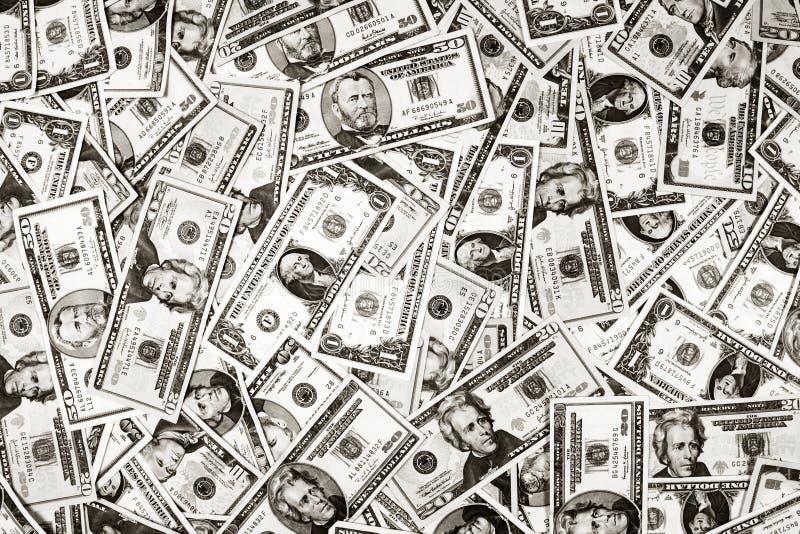 Bakgrundsdollarpengar Oss Fotografering för Bildbyråer