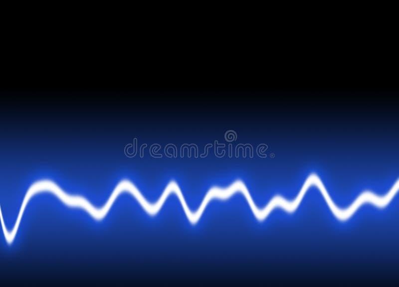 bakgrundsenergiwaves arkivfoto