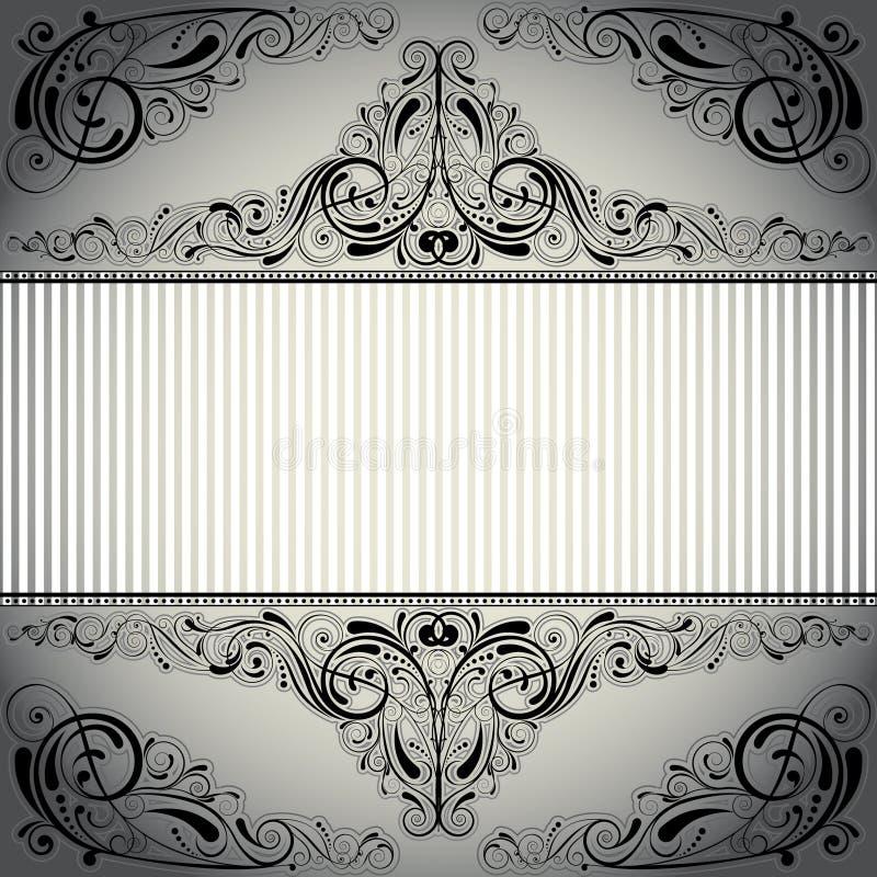 Bakgrundsetikettdesign vektor illustrationer