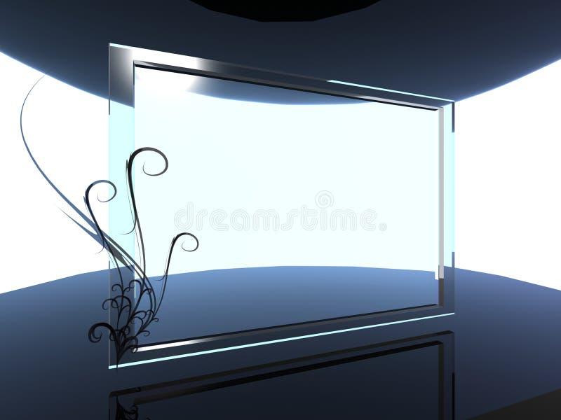 bakgrundsexponeringsglas stock illustrationer
