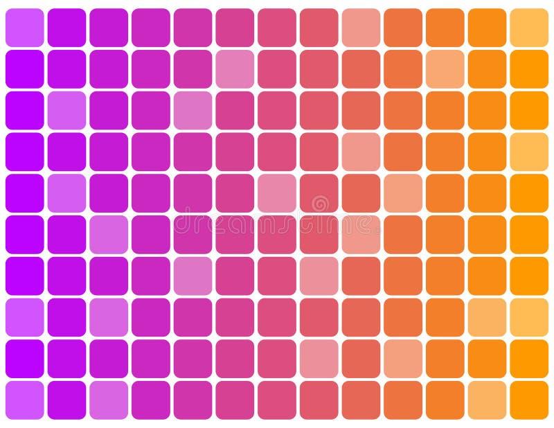 bakgrundsfärg skära i tärningar mång- royaltyfri illustrationer