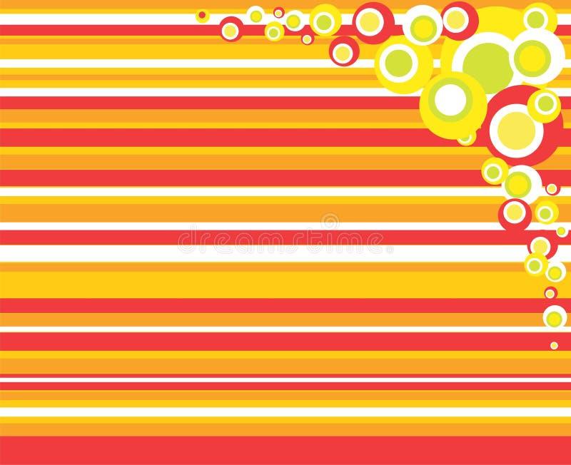 bakgrundsfärgdesign stock illustrationer