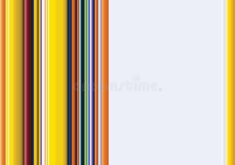 bakgrundsfärgkolonner vektor illustrationer