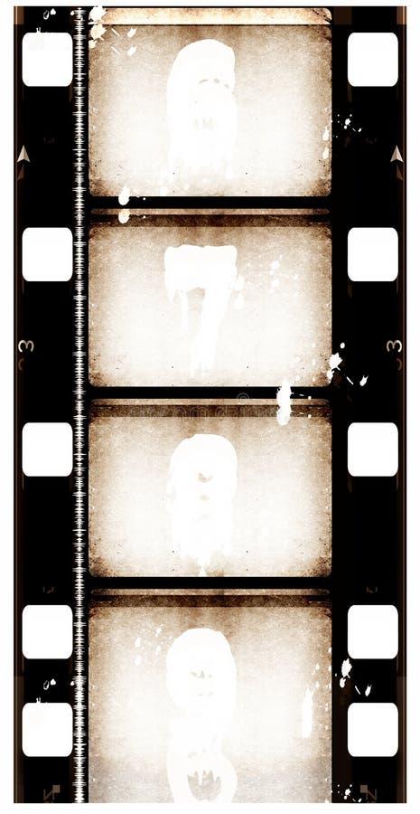 bakgrundsfilmgrunge royaltyfri illustrationer