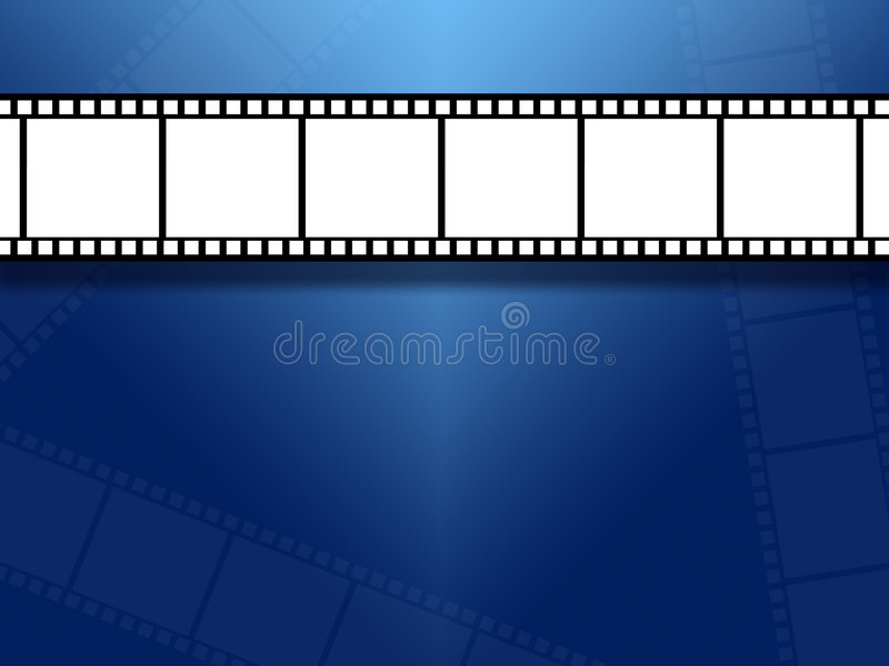 bakgrundsfilmremsor royaltyfri illustrationer