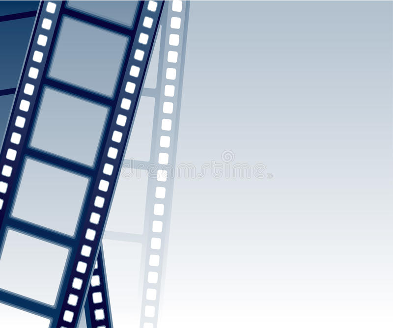 bakgrundsfilmstrip royaltyfri illustrationer