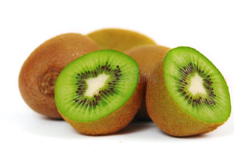 bakgrundsfrukt isolerade kiwiwhite arkivbilder