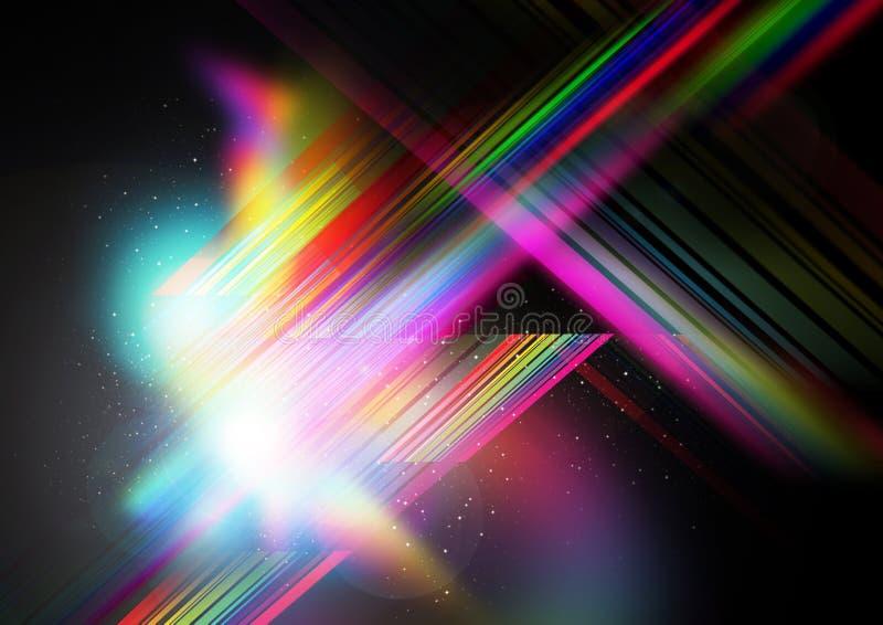bakgrundsfusionlampa royaltyfri illustrationer