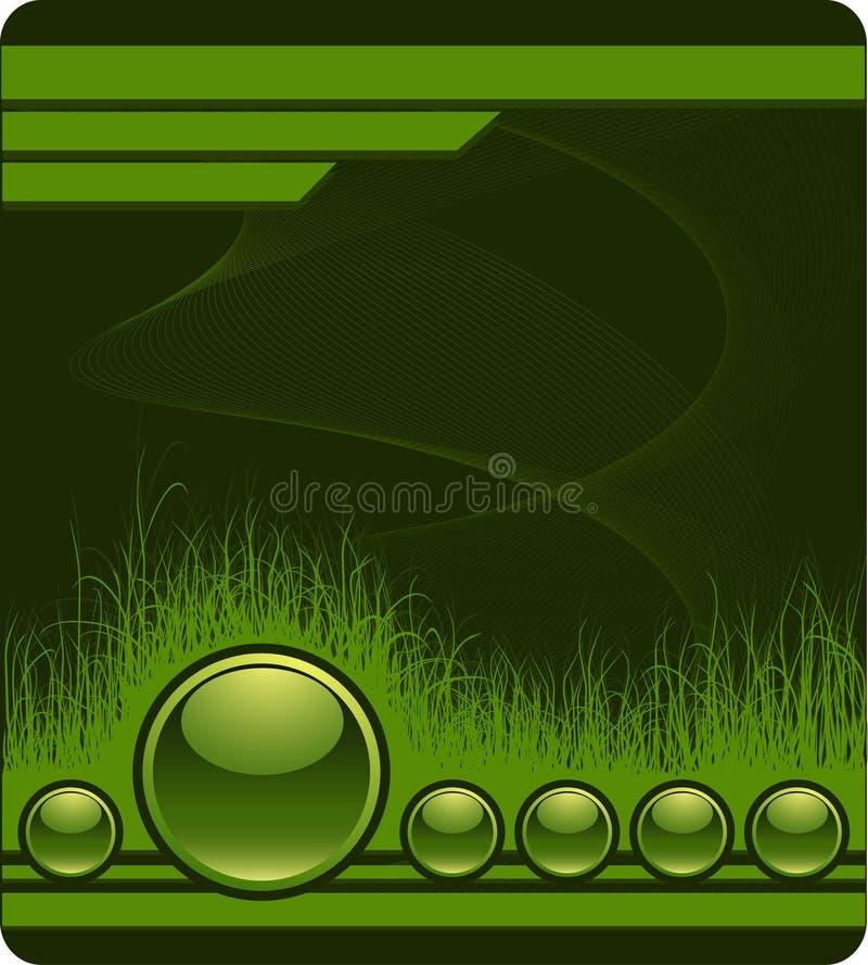 bakgrundsgräsgreen vektor illustrationer