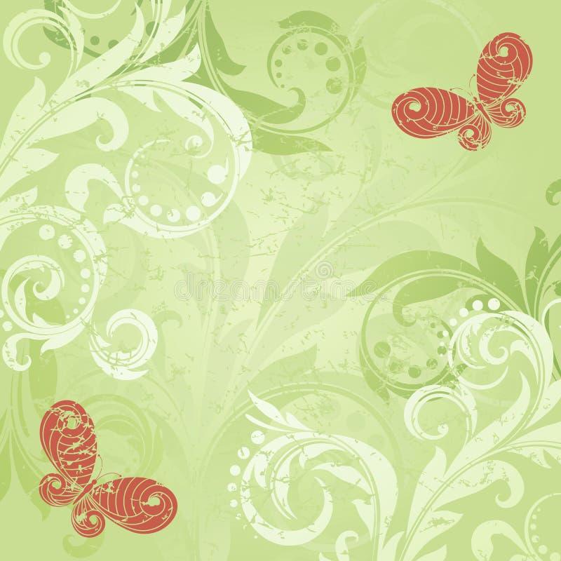 bakgrundsgreen royaltyfri illustrationer