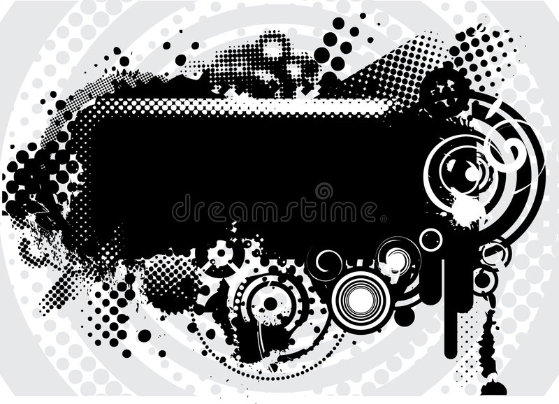 bakgrundsgrunge stock illustrationer