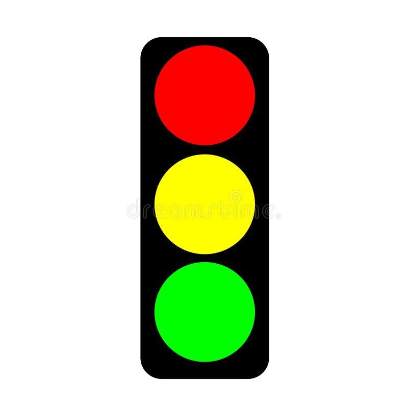 bakgrundsillustrationen isolerade ljus white för trafikvariantsvektor vektor illustrationer
