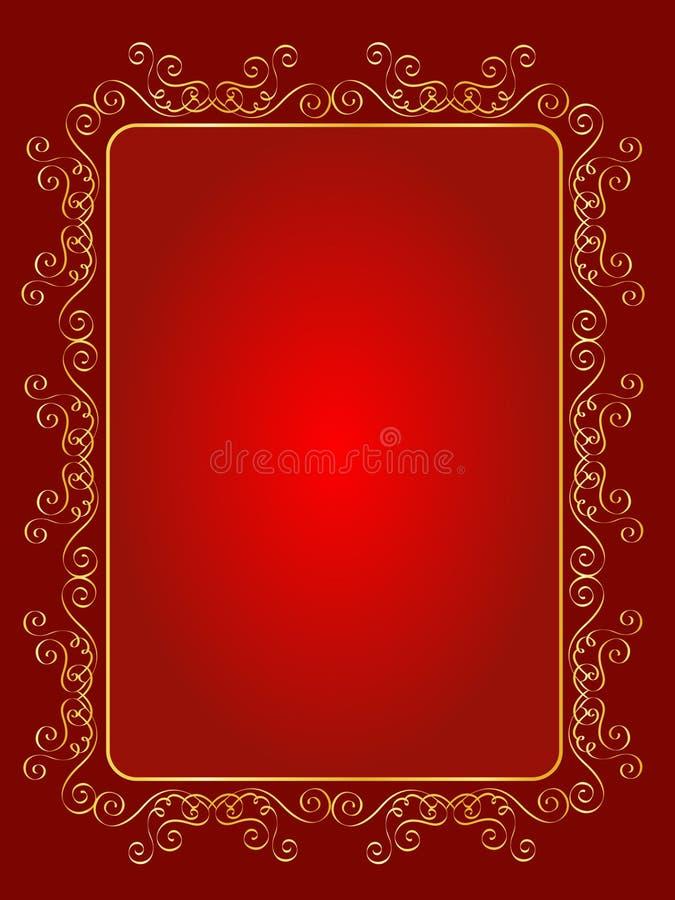 bakgrundsinbjudanbröllop royaltyfri illustrationer