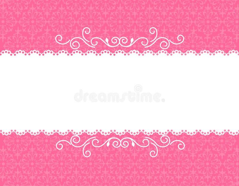 bakgrundskortinbjudan royaltyfri illustrationer