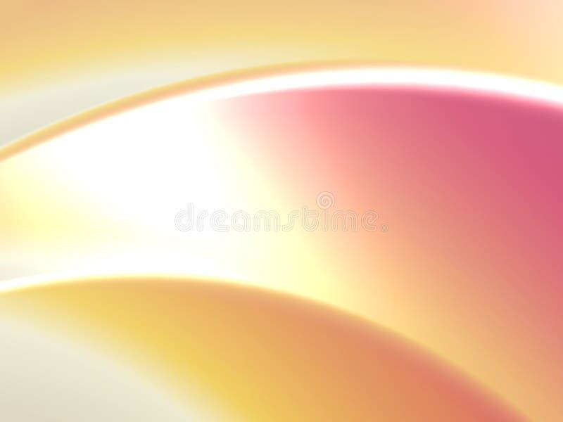 bakgrundskromyellow stock illustrationer