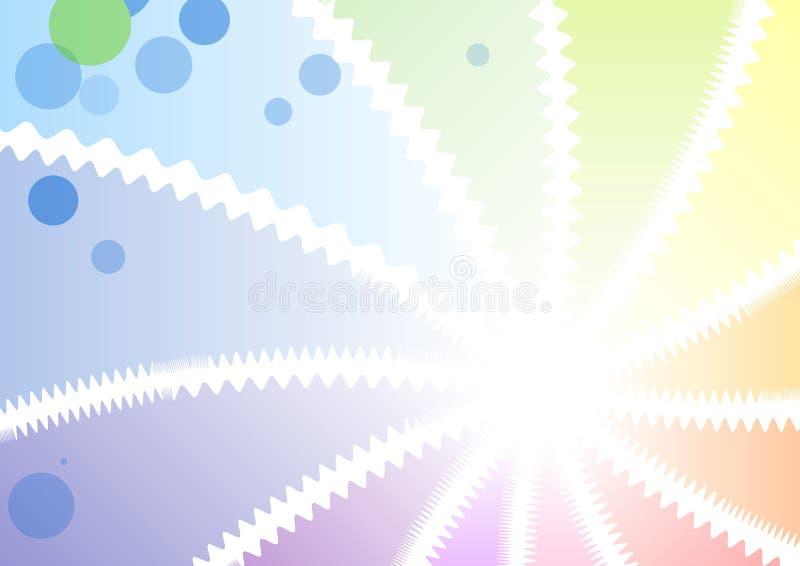 bakgrundslampa stock illustrationer