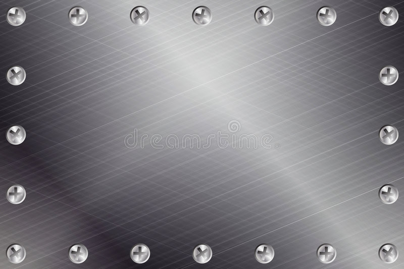 bakgrundsmetall vektor illustrationer