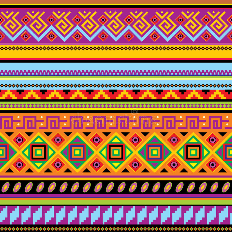 bakgrundsmexikan vektor illustrationer