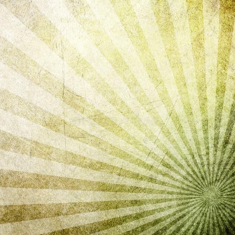 bakgrundsmodellen rays retro royaltyfri illustrationer