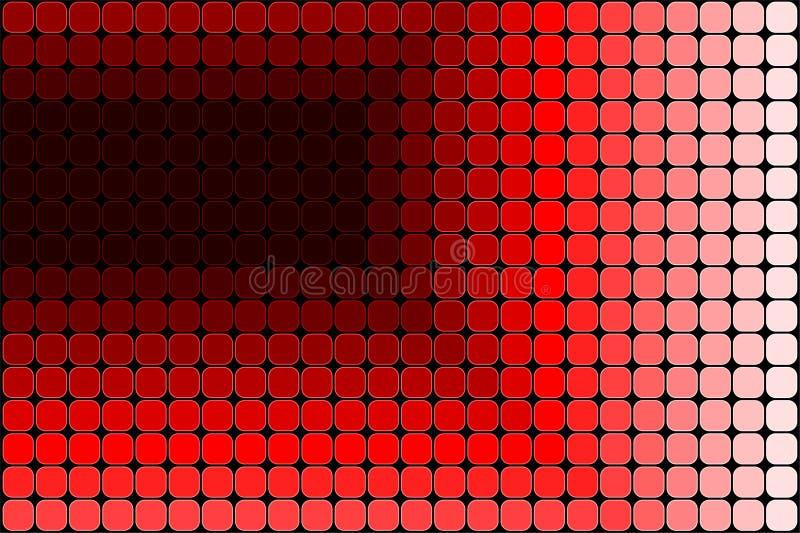 bakgrundsmosaikvektor stock illustrationer