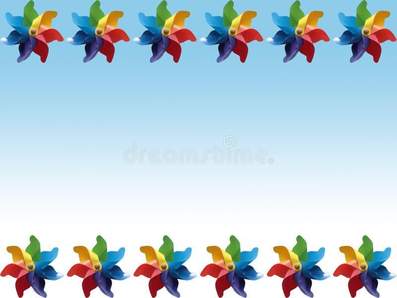 bakgrundspinwheel royaltyfria foton