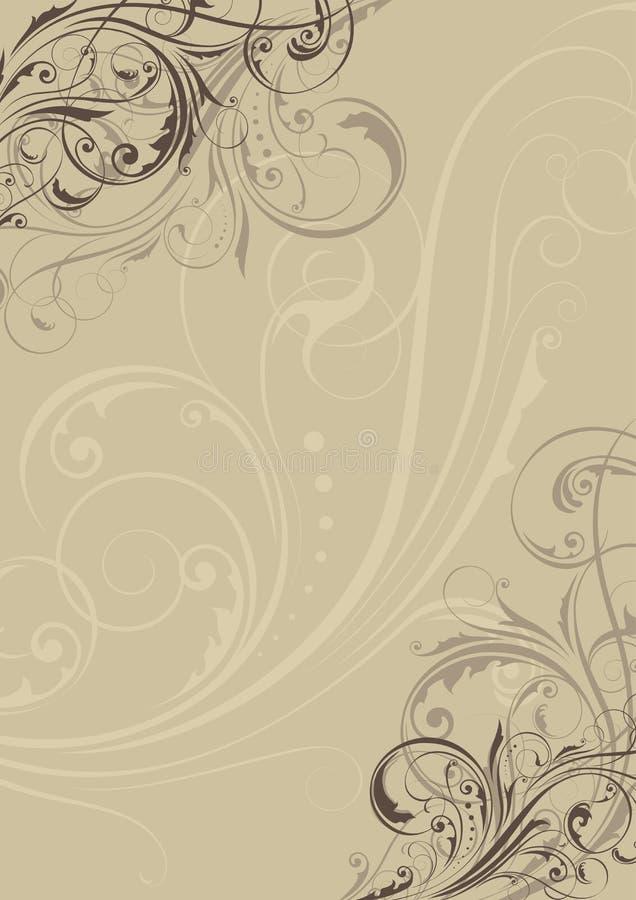 Bakgrundsprydnad royaltyfri illustrationer
