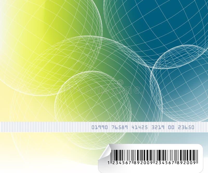 bakgrundssäkerhet vektor illustrationer