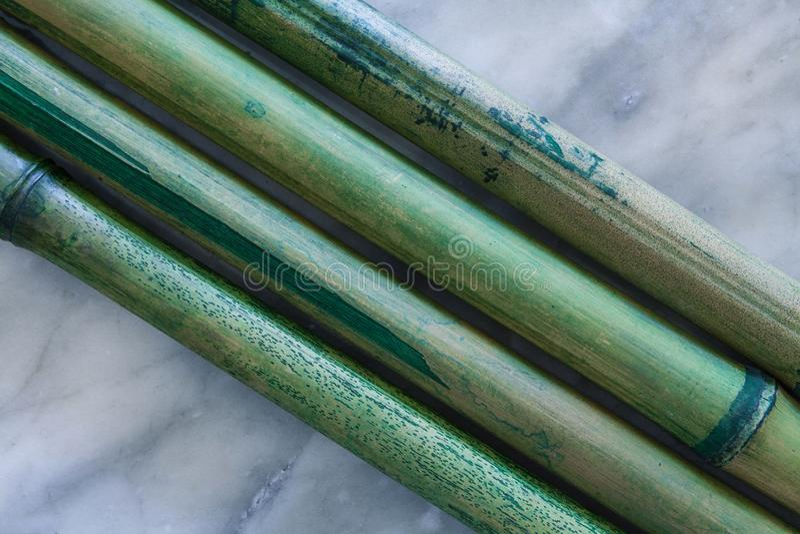 Bakgrundssammansättning med bamburottingar fotografering för bildbyråer