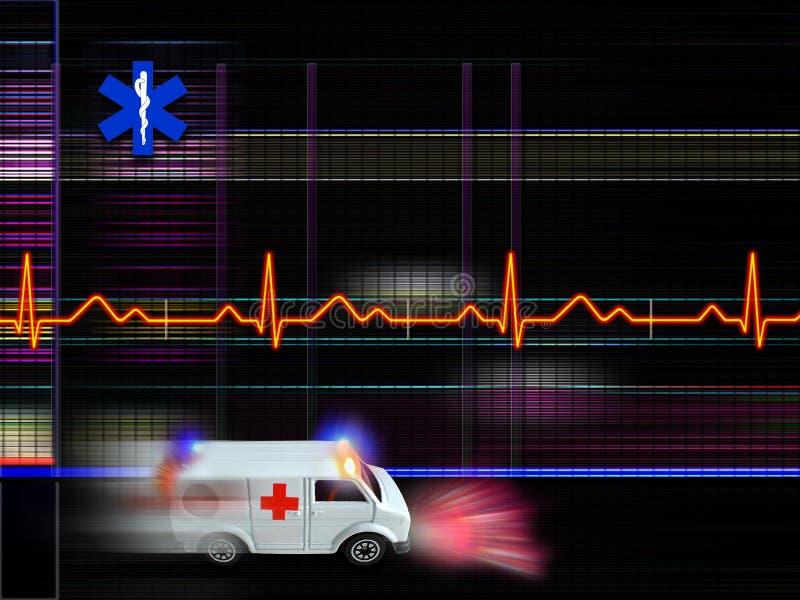 bakgrundssjukvård stock illustrationer