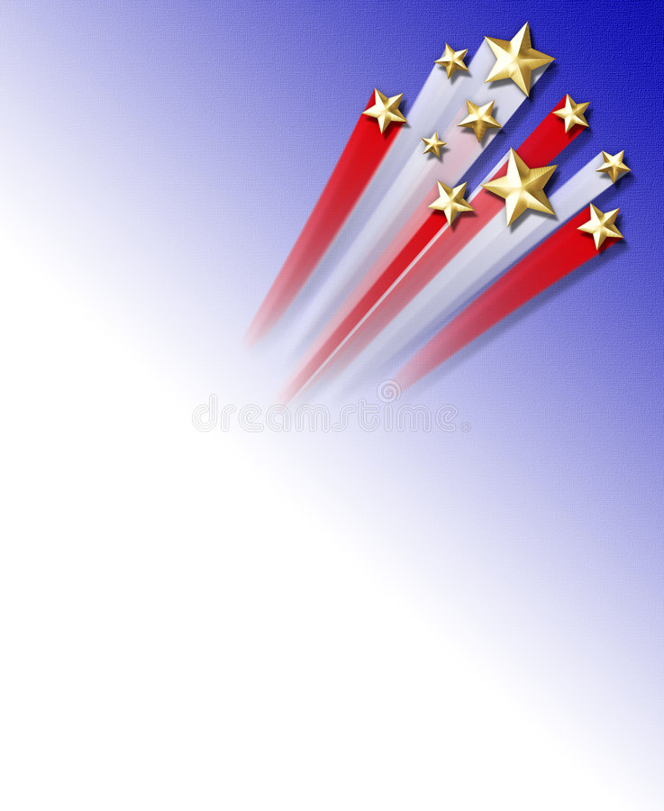 bakgrundsskyttestjärnor stock illustrationer