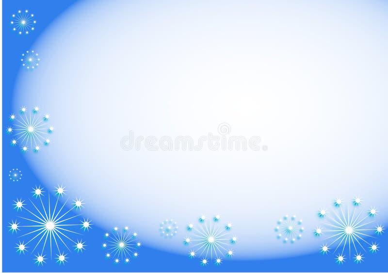 Download Bakgrundssnowflakes stock illustrationer. Bild av klimat - 39295