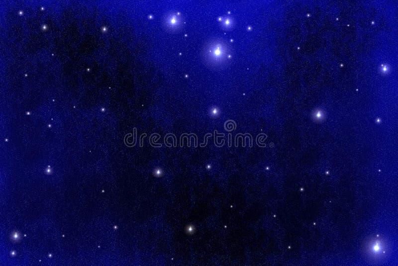 bakgrundsstarfield vektor illustrationer