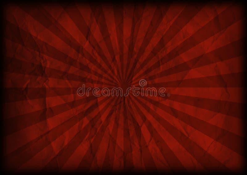 bakgrundssunburst vektor illustrationer