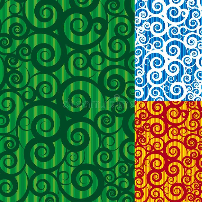bakgrundsswirl stock illustrationer