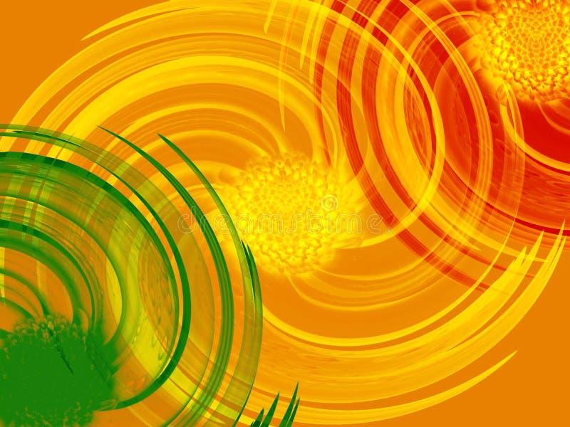 bakgrundsswirl vektor illustrationer