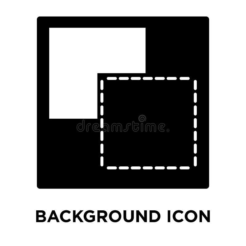 Bakgrundssymbolsvektor som isoleras på vit bakgrund, logoconcep royaltyfri illustrationer