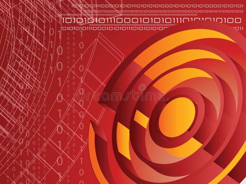 bakgrundstech vektor illustrationer