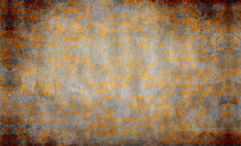 bakgrundstegelstengrunge royaltyfria bilder