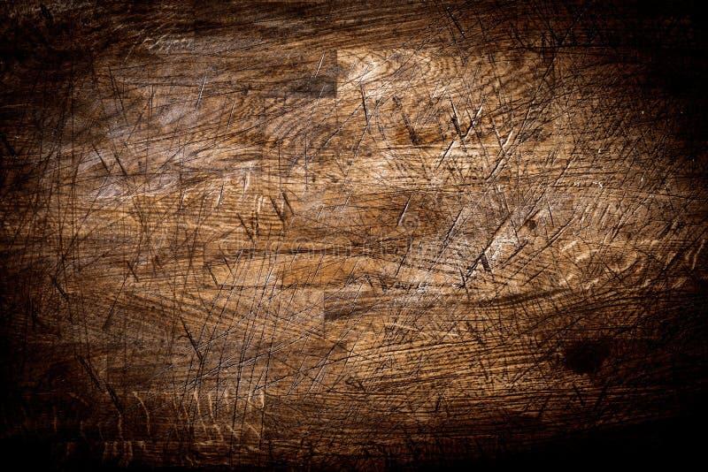 Bakgrundstextur av gammalt grungy gjort poäng trä royaltyfri bild