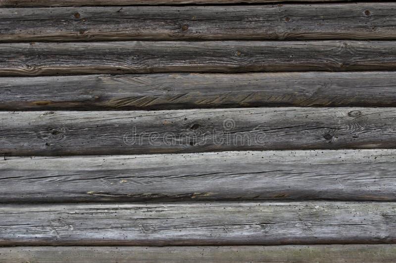 Bakgrundstexturvägg av ett trähus fotografering för bildbyråer
