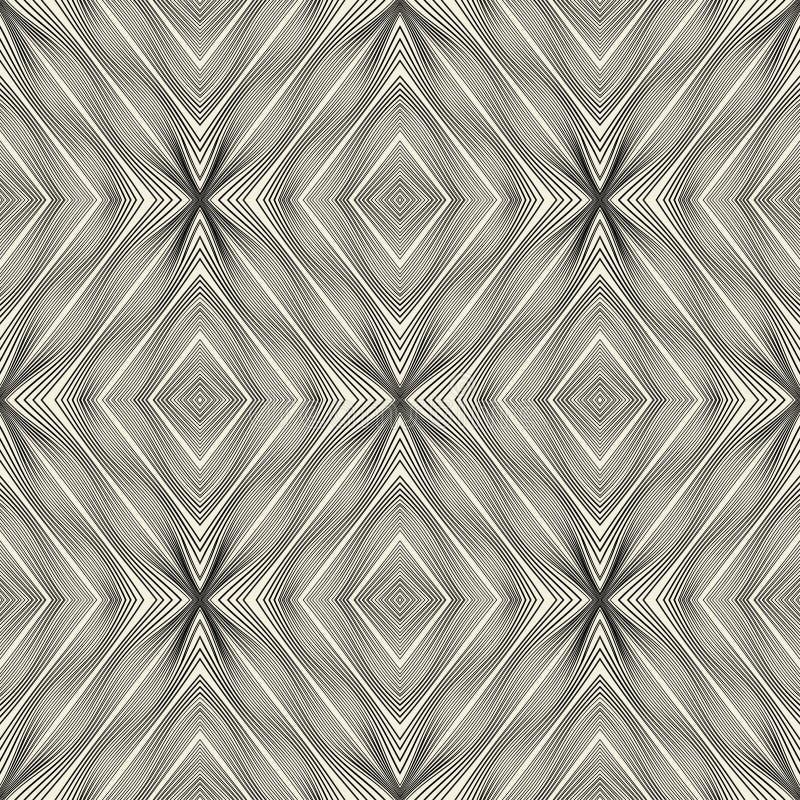 bakgrundsutkast som engineering seamless wallpaperwebsite för geometrisk modell Geometrisk vektortapet- eller websitebakgrund stock illustrationer