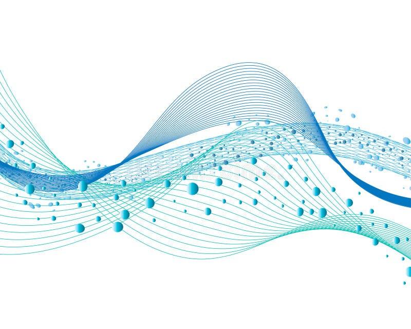 bakgrundsvatten vektor illustrationer