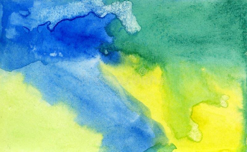 bakgrundsvattenfärg stock illustrationer
