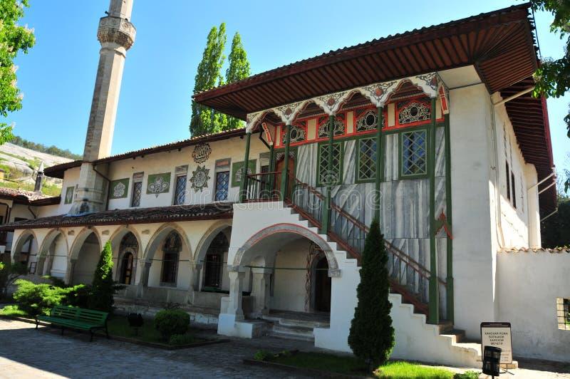 Bakhchisaray slott, Khan'sens slott, Krim ukraine royaltyfria foton